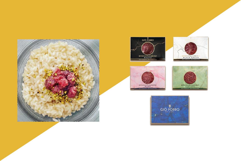 BOX BRESAOLE ZERO® ROSE', ANGUS, WAGYU, TARTARE 280 gr
