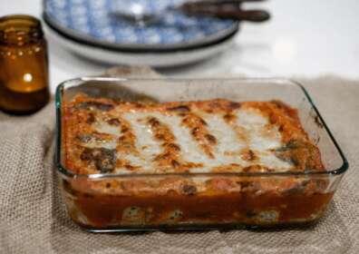 Ricetta bresaola: Pasta al forno con tartare Giò Porro